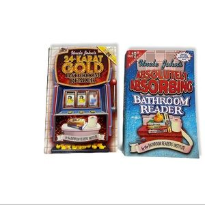 UNCLE JOHN'S BATHROOM READER Bundle of 2 Books